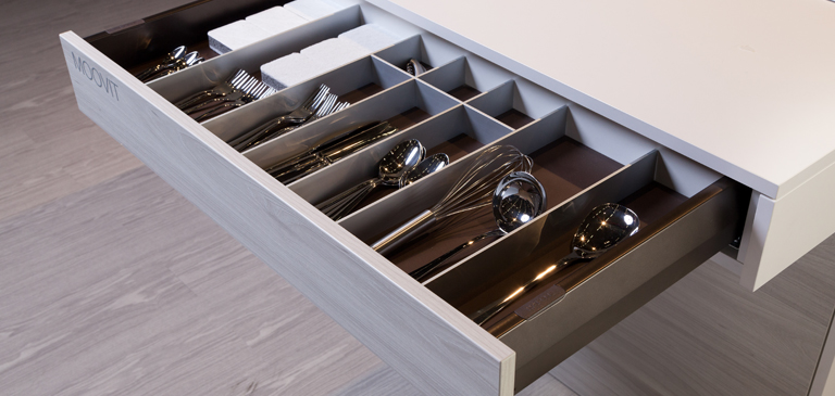 Individual structured drawers