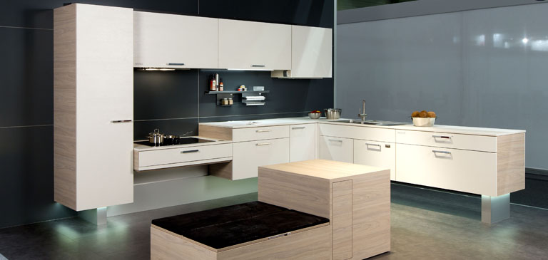The multi-functional kitchen - healthy movement at all times.