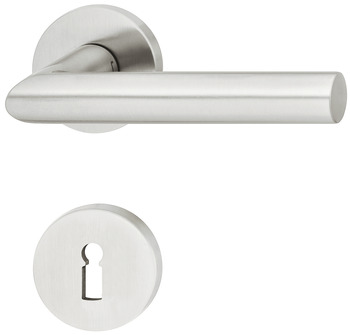 Lever handle set, Stainless steel, FSB, ASL<sup>®</sup> model 12 1076